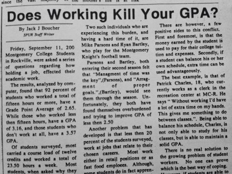 Throwback Thursday:Does Working Kill Your GPA?