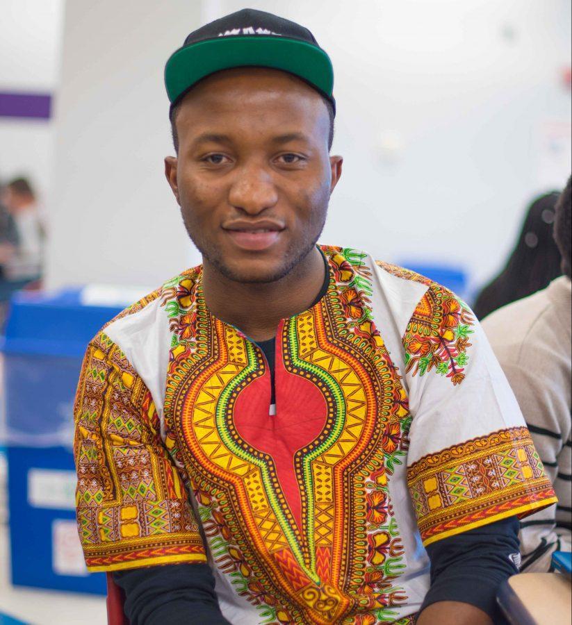 Humans of MC: Carlson Chimangha