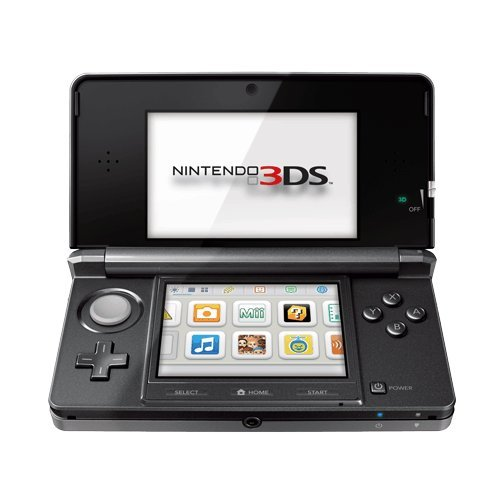 Nintendo 3DS in black. -- Photo:  Amazon.com