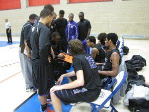 Men basketball v Dundalk 07
