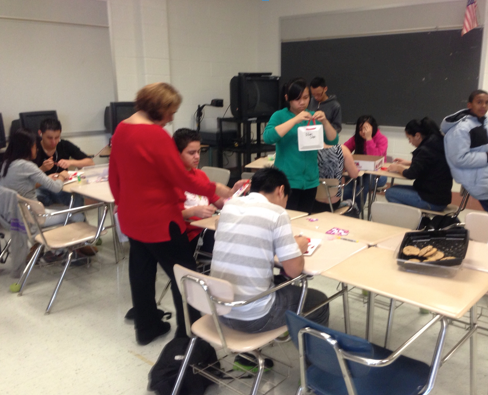 MC students get involved in helping MCPS ESOL high schoolers