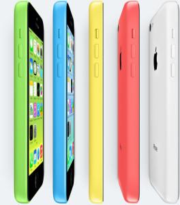 iphone 5c (Credit:  Apple.com)