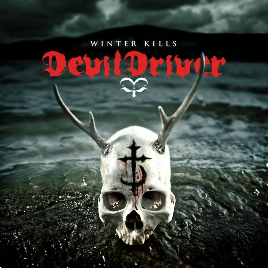 The album cover for Devildrive's latest work:  Winter Kills