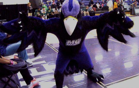 Montgomery College Raptors' Mascot