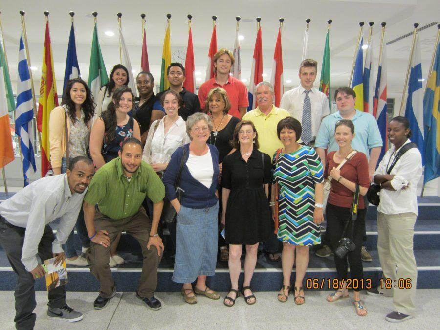 Students+and+faculty+of+the+MC+Study+Abroad+Program+at+the+European+Union+Parliament.+%28Photo+Credit%3A+Greg+Malveaux%29