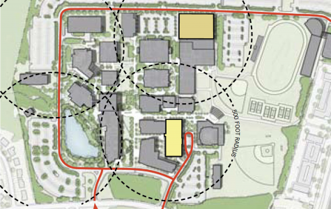 Future MC Renovations Supported by Capital Budget Plan, Includes Parking Garage