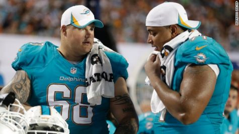 Richie Incognito (left) has been under fire publicly for bullying accusations   (Photo Credit: CNN)