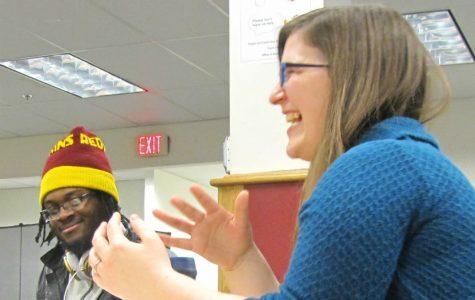 Assistant professor of psychology Jessica McLaughlin