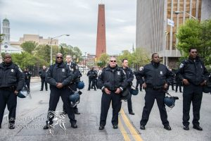 Saturday, April 25: Local Police in Baltimore