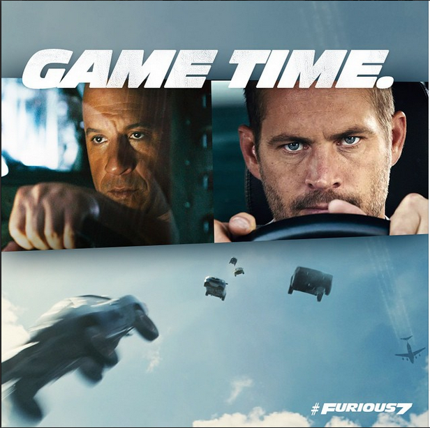 Furious 7 online poster