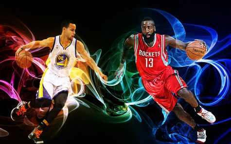 Steph Curry and James Harden (Graphic Credit: Devaughn DC Philips)