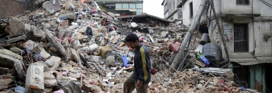 Nepal Earthquake (Photo Credit: EPA)