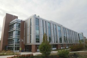 The science building on Rockville Campus Photo credit: Emmanuel Jean Marie