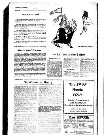 Throwback Thursday: On Women's Liberty