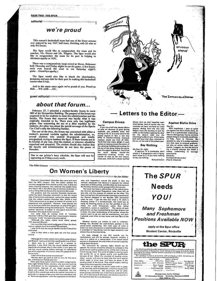 Throwback Thursday: On Women's Liberty
