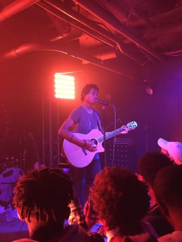 Musician/Singer Raury's Live Performance at U Street Music Hall in D.C.