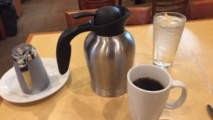 Coffee at First Watch Cafe (photo: Jarata Jaffa)