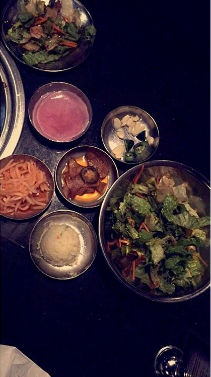 Side dishes served with your meal Credt: Jarata Jaffa