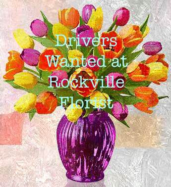 Rockville Florist Seeking Drivers for Mother's Day Weekend