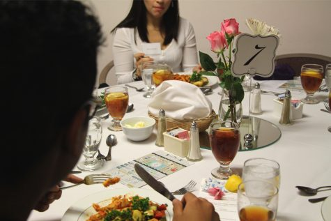 First Annual Etiquette Dinner Held at MC