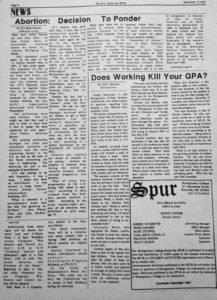 Original article written by Jack J Boucher, September 17, 1987