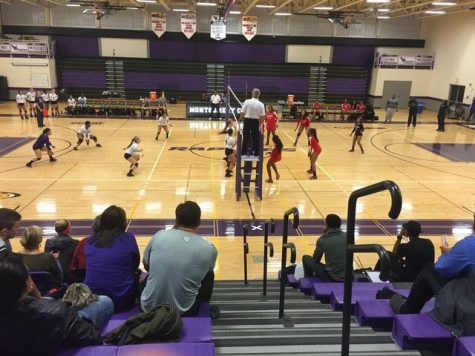Despite a Strong Start at Home MC Volleyball Falls to Baltimore City