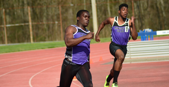 Image from Montgomery College home page for athletics