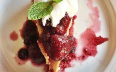Strawberry cheesecake at Paladar Latin Kitchen (photo: Jarata Jaffa)