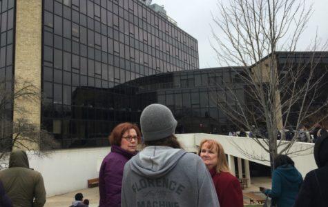 False Fire Alarm on Campus