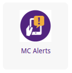 Updated Alert System at MC