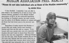 Muslim Association Pres. Reacts