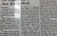 Throwback Thursday: DC Liquor Laws Just Won't Work
