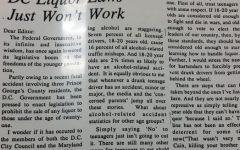 Throwback Thursday: DC Liquor Laws Just Wont Work