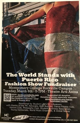 The World Stands With Puerto Rico Fashion Show Promo