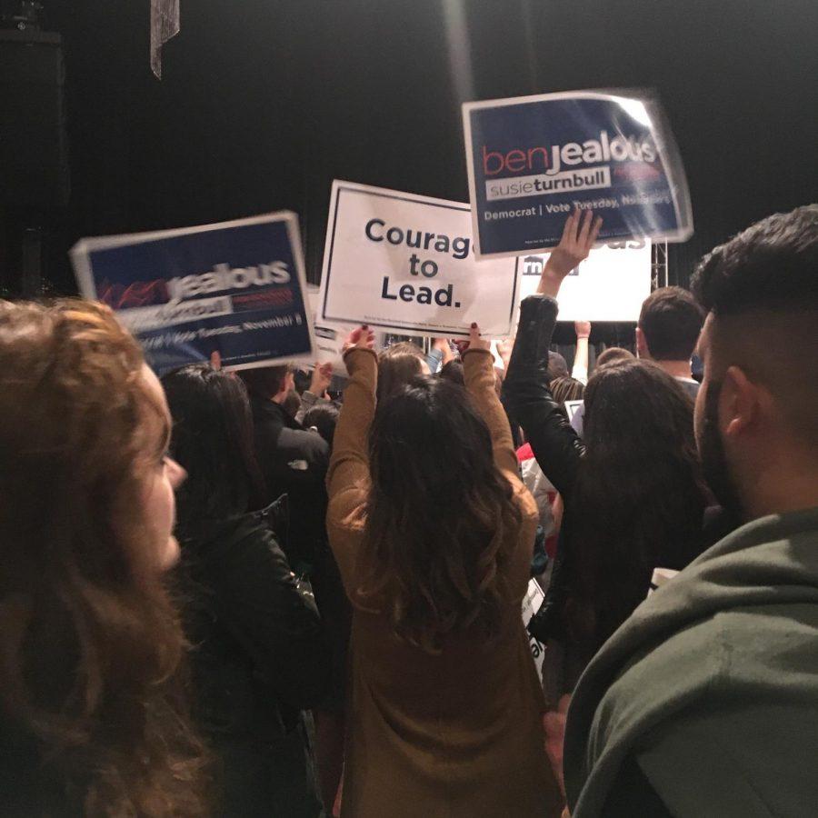 Ben Jealous and Bernie Sanders Rally Up Blue Voters