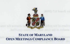 Board of Trustees' Open Meetings Act compliance questioned, cleared with minor violation issued