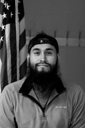 "Former United States Marine Corps Lance Cpl., Oswaldo ""Tito"" Pazmino"
