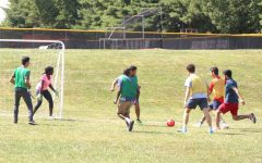 International Peace Day Soccer Game at Germantown Campus.