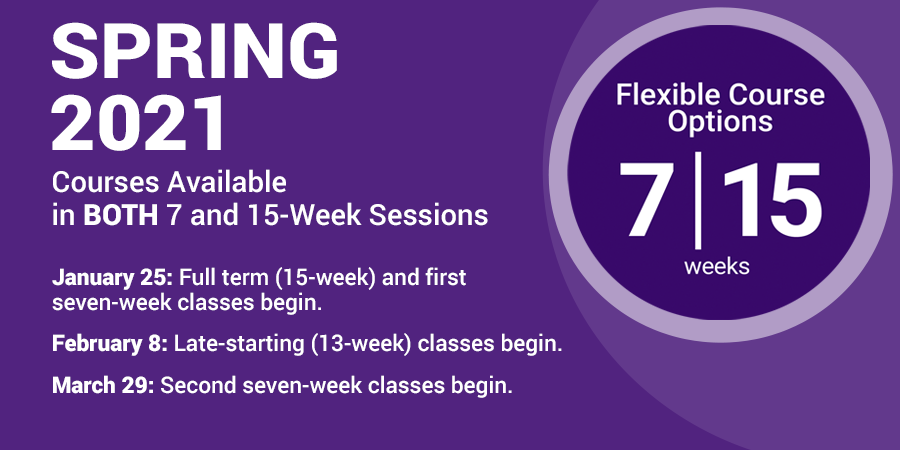 7-Week Courses at MC Explained