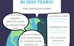 Navigation to Story: CWC Earth Day Event Writing Challenge: What Will Your Earth Look Like in 1000 Years?