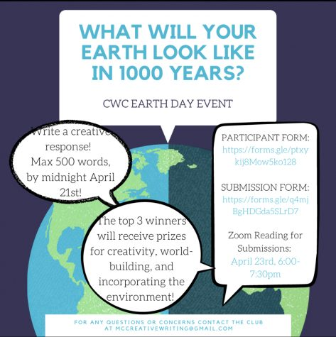 CWC Earth Day Event Writing Challenge: What Will Your Earth Look Like in 1000 Years?
