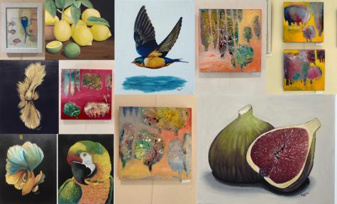 Middle Eastern American Artists in the Garden and Beyond Exhibit now at Brookside Gardens